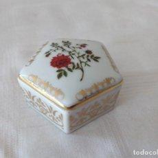 Vintage: PRECIOSA CAJA DE PORCELANA EMPRESS JOSEPHINE´SROSE GARDEN, COLECCIONABLE AÑOS 80. Lote 280985713