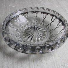 Vintage: FRUTERO DE CRISTAL. Lote 284692843