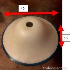 Vintage: PLAFÓN DE CRISTAL PARA LAMPARA DE TECHO.. Lote 286804903