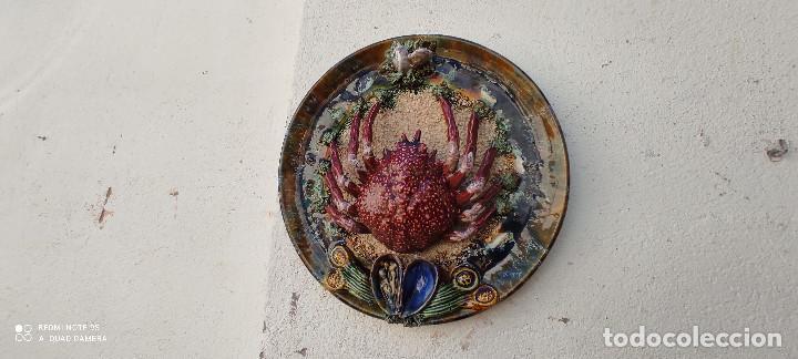 PLATO RUSTICO (Vintage - Decoración - Porcelanas y Cerámicas)
