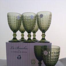 Vintage: 12 COPAS LB & LA CARTUJA DE SEVILLA. Lote 288546063