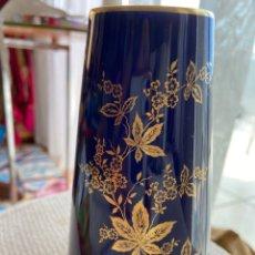 Vintage: JARRÓN BABARÍA ECHT COBALT BLUE MONIE. Lote 289529578