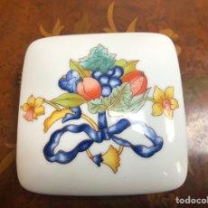 Vintage: CAJA DE PORCELANA BERNARDAUD BORGHESE. Lote 289773868