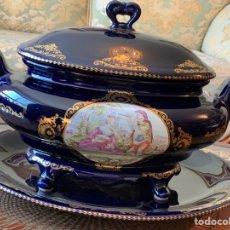 Vintage: SOPERA DE PORCELANA LIMOGES. Lote 290461593