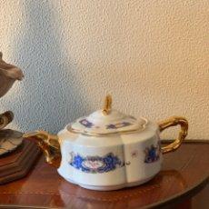 Vintage: CAFETERA TETERA DE PORCELANA. Lote 290947568