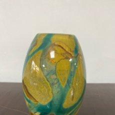 Vintage: JARRÓN DE CRISTAL MDINA GLASS MALTA.. Lote 292034088
