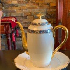 Vintage: CAFETERA DE PORCELANA LIMOGES. Lote 292098998