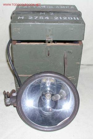 FOCO GRANDE ANTIGUO (Vintage - Lámparas, Apliques, Candelabros y Faroles)