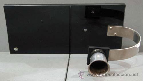 Vintage: Candelero art deco onix y metal años 50 - Foto 3 - 11150350