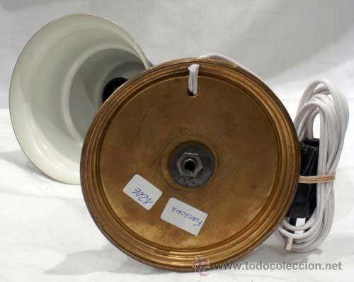 Vintage: Lámpara mesita noche metal color negro - Foto 6 - 11501657