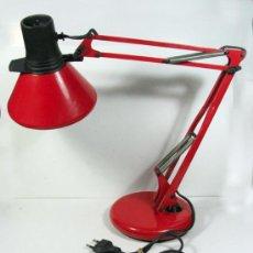 Vintage: ANTIGUA LAMPARA DE ESTUDIO DE LA MARCA FASE. DISEÑO ESPAÑOL. VINTAGE. Lote 27186343