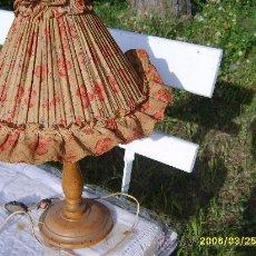 Vintage: LÁMPARA DE SOBREMESA AÑOS 50. Lote 25917618