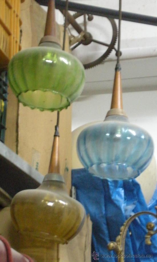 FANTASTICA LAMPARA (Vintage - Lámparas, Apliques, Candelabros y Faroles)