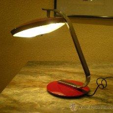 Vintage: LAMPARA FASE MODELO 520-C ROJO CORINTO AÑOS 60. Lote 27295339