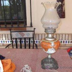 Vintage: LAMPARA DE MESA CERAMICA. Lote 28956905
