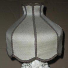 Vintage: LAMPARA PORCELANA MANISES EXTRAORDINARIA. Lote 29296360