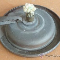 Vintage: ANTIGUA PALMATORIA DE AÑOS 50S EN COBRE. DEPOSITO EN BASE. MARCA STEPHANIE GESGECH.. Lote 29699708