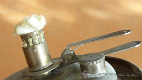 Vintage: Antigua palmatoria de años 50s en cobre. Deposito en base. marca Stephanie gesgech. - Foto 4 - 29699708