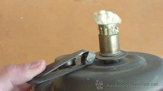 Vintage: Antigua palmatoria de años 50s en cobre. Deposito en base. marca Stephanie gesgech. - Foto 5 - 29699708