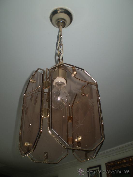 LAMPARA AÑOS 70 (Vintage - Lámparas, Apliques, Candelabros y Faroles)