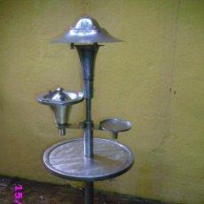 Vintage: LAMPARA ART DECO DISEÑADOR FIRMADO GEORGES HALAIS LAMPARA CENICERO 1930 EXTINCTO. Lote 31308449