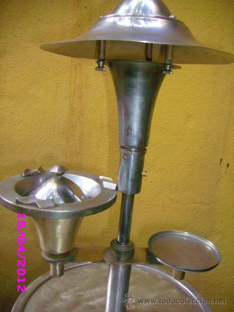 Vintage: LAMPARA art deco diseño georges halais lampara cenicero 1930 extincto - Foto 4 - 31308449