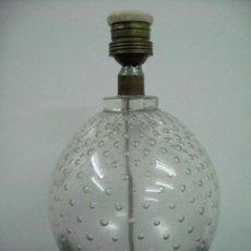 Vintage: LAMPARA CRISTAL BURBUJAS VINTAGE DAUM? MURANO?. Lote 31916406