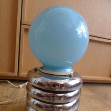 Vintage: BONITA LAMPARA DE MESA RETRO AÑOS 70S VINTAGE SPACE AGE . Lote 32056789