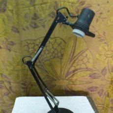 Vintage: FASE. LAMPARA DE ESTUDIO ORIGINAL DE LA MARCA FASE. SIN TULIPA.... Lote 32602954