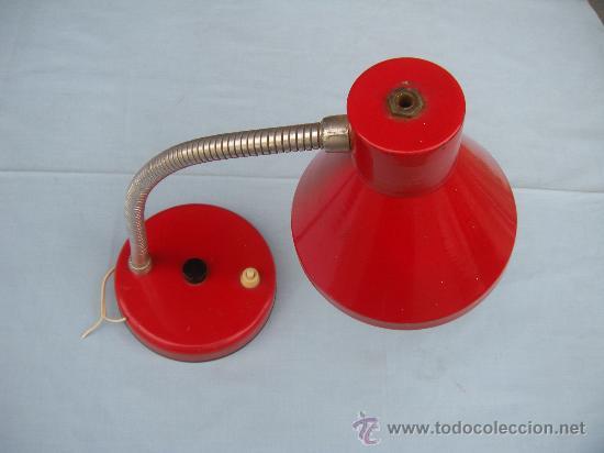 LÁMPARA DE SOBREMESA FLEXO. (Vintage - Lámparas, Apliques, Candelabros y Faroles)