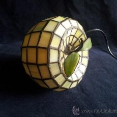 Vintage: LAMPARA TIFFANY. . 12CM DIAMETRO 16 ALTU.. Lote 33402985