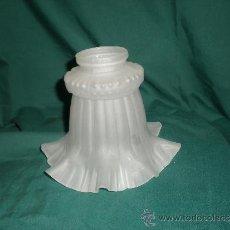 Vintage: TULIPA CRISTAL LAMPARA AÑOS 60. Lote 34913295