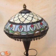 Vintage: LAMPARA DE SOBREMESA ESTILO TIFANNY. Lote 35072286