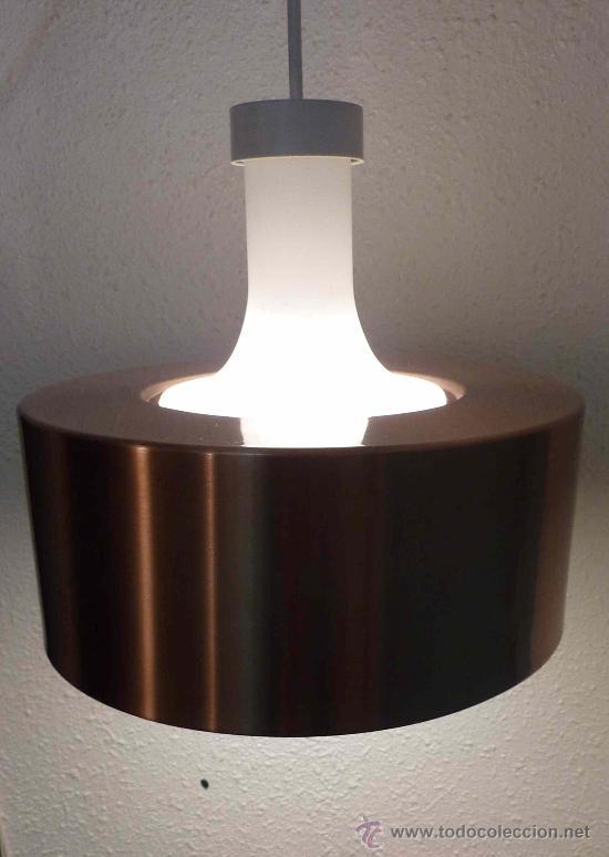 LAMPARA TECHO ORIGINAL AÑOS 60/70 STAFF DESIGN ERA SPACE AGE (Vintage - Lámparas, Apliques, Candelabros y Faroles)
