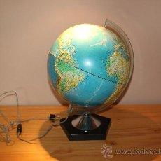 Vintage: LAMPARA GLOBO TERRAQUEO. Lote 36088153