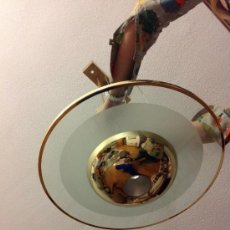Vintage: LAMPARA CON HALOGENO 50X50CM..70 DE ALTURA.. Lote 36766904