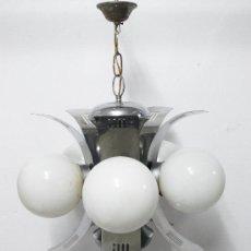 Vintage: BESTIAL LAMPARA SPACE AGE DE SALDO AÑOS 60 SCI FI RETRO VINTAGE ANTIGUA RETRO. Lote 36835300