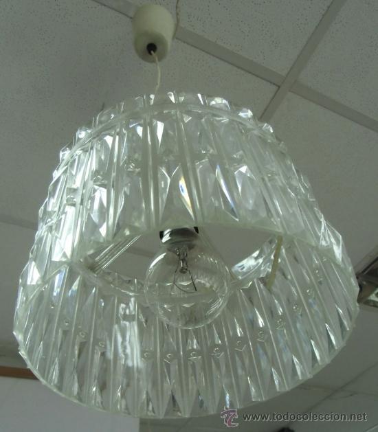 LÁMPARA DE TECHO AÑOS 60-70 (Vintage - Lámparas, Apliques, Candelabros y Faroles)
