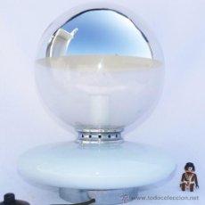 Vintage: BESTIAL LAMPARA ANTIGUA MAZZEGA MURANO VINTAGE SPACE AGE AÑOS 70. Lote 36957850