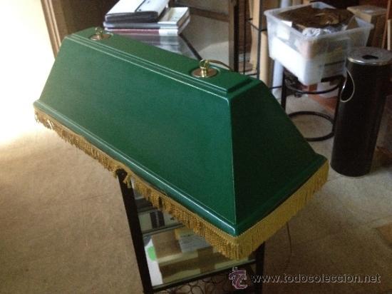 Lampara clasica de mesa de billar completa y s comprar l mparas vintage apliques - Mesa billar segunda mano ...