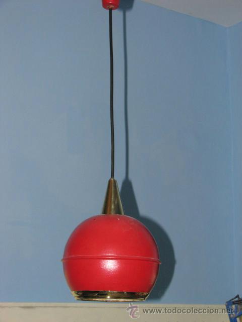 LÁMPARA DE TECHO VINTAGE (Vintage - Lámparas, Apliques, Candelabros y Faroles)