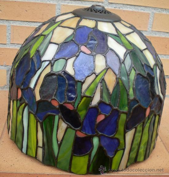 tulipa de lámpara grande, cristal de colores em - Comprar Lámparas ...