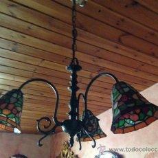 Vintage: LAMPARA ESTILO TIFFANY. Lote 39265915