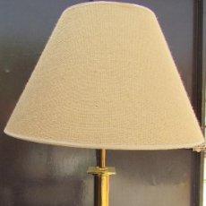Vintage: LAMPARA DE LATON CUADRADA. Lote 39287420
