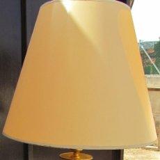 Vintage: LAMPARA DE LATON. Lote 39287465
