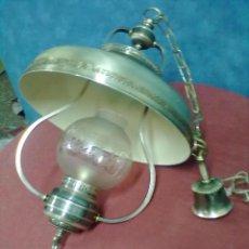 Vintage: LAMPARA FORMA QUINQUE . Lote 39410363