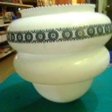 Vintage: TULIPA GRANDE BLANCA, DE 24 CM. Lote 39629957