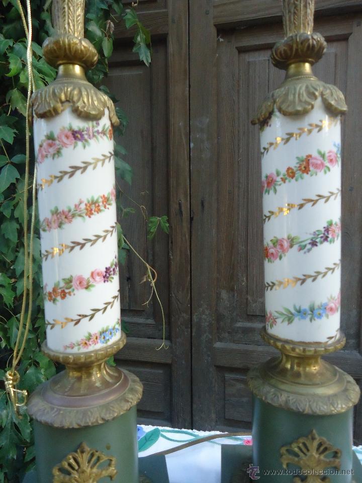 Lamparas de bronce lamparas sobremesa cl sicas comprar - Lamparas de sobremesa clasicas ...