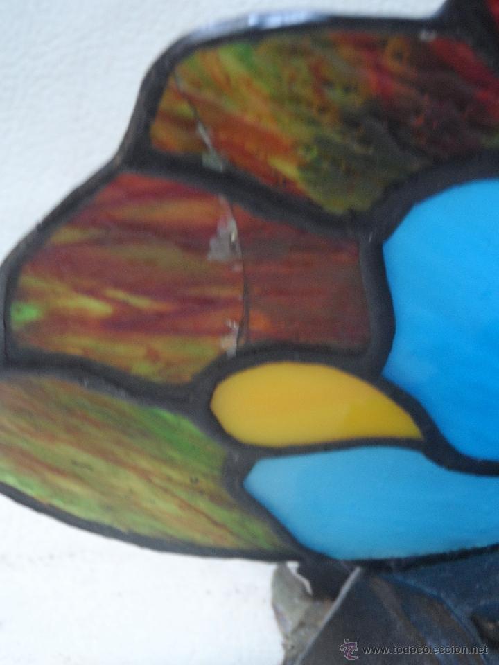 Vintage: lampara vintage mariposa muy bonita ESTILO TIFFANY - Foto 4 - 113949452