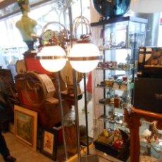 Vintage: VINTAGE LAMPARA DE PIE CROMADA CON 3 FOCOS , AÑOS 70. Lote 39802078